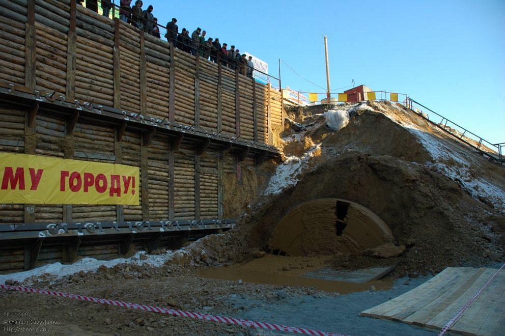 ТПК «Ловат» вышел на станцию «Комсомольская площадь»