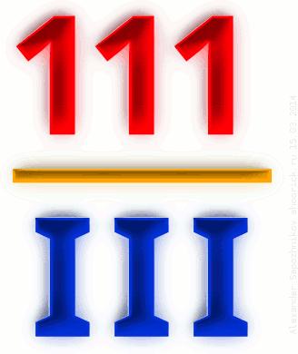 111 / III
