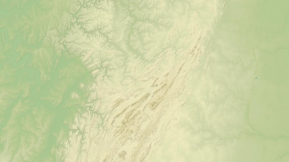Рельеф Южного Урала