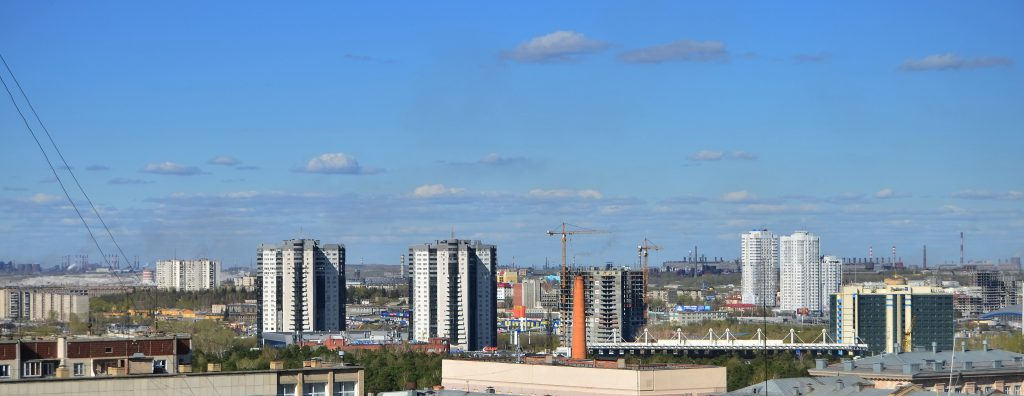 Синее небо над Челябинском