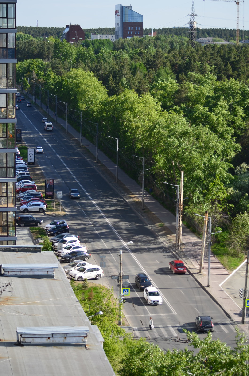 улица Лесопарковая