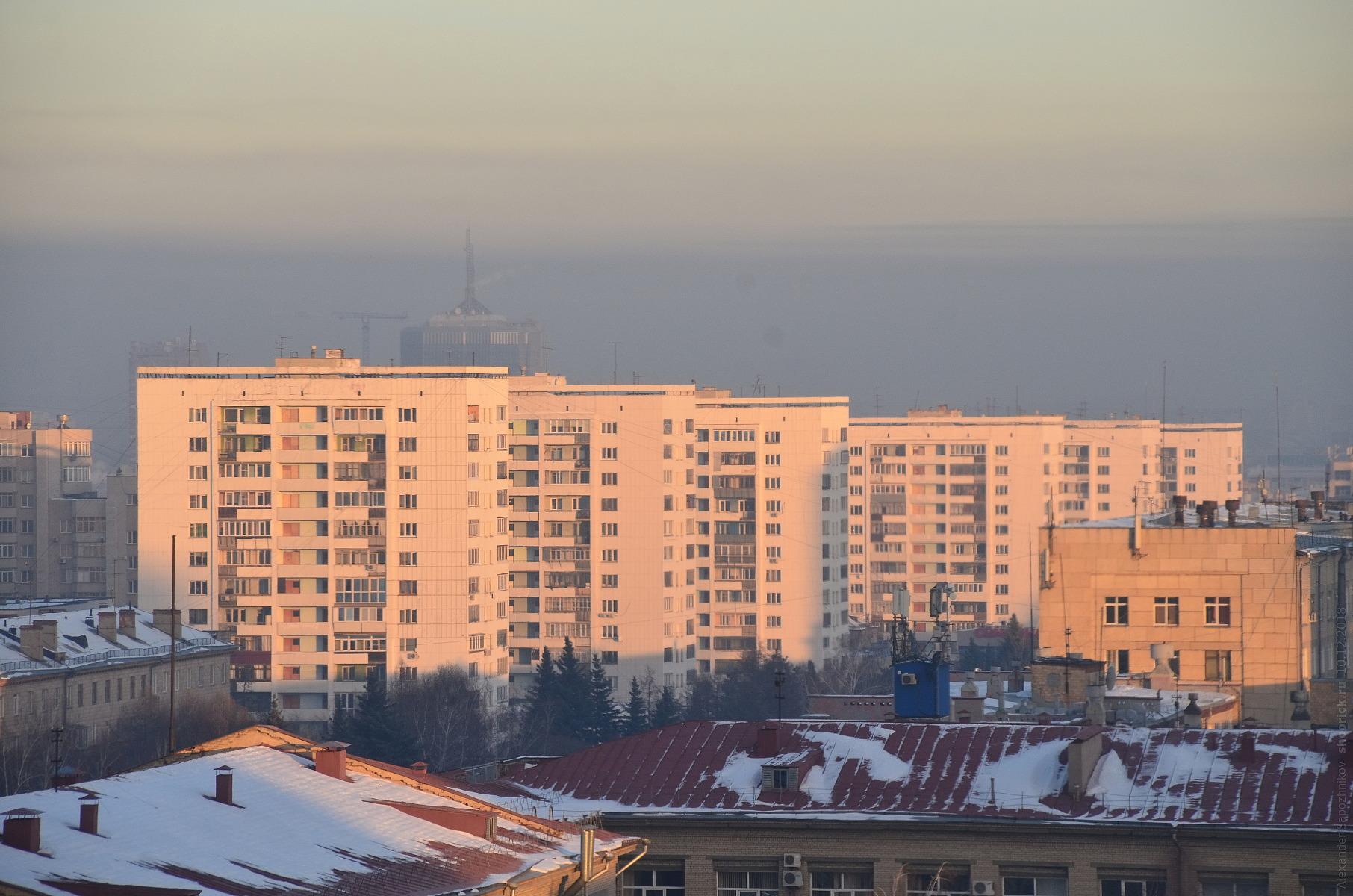 Башни Вулыха на проспекте Ленина